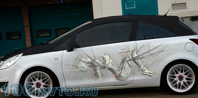 Картинка на авто