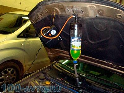 Самодельная система для очистки инжектора