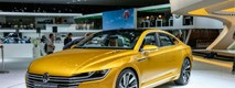 Спорт-седан VW C Coupe GTE для рынка Китая