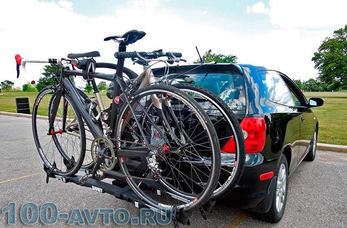 багажник на автомобиль для велосипеда