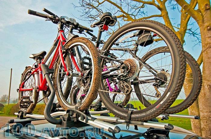 рейлинги на крышу для велосипедов