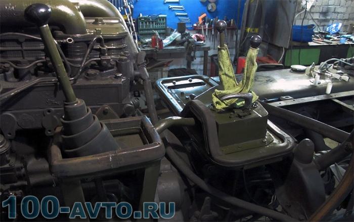 Коробка скоростей ГАЗ-66