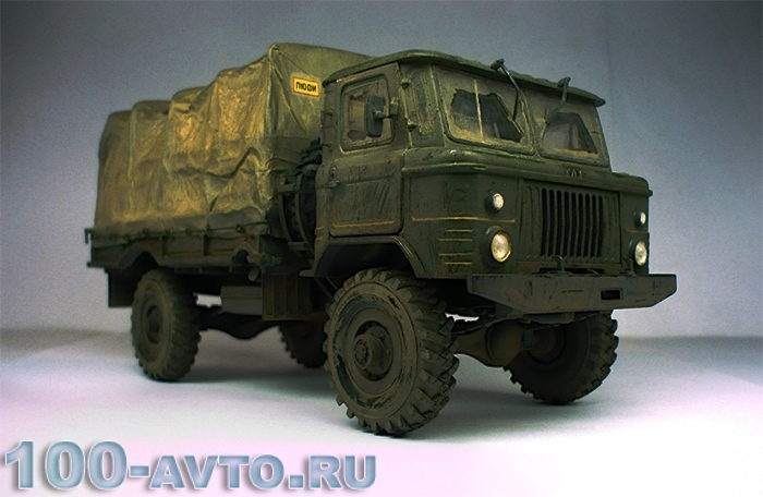 Техническая характеристика ГАЗ 66