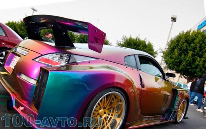 как подобрать цвет автомобиля