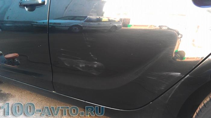 Как убрать потертости на автомобиле