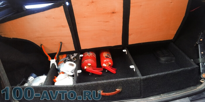 Тюнинг багажника нивы шевроле