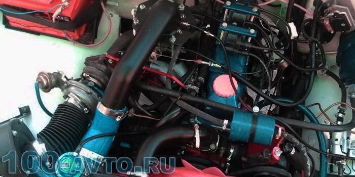 Тюнинг двигателя УАЗ Хантер