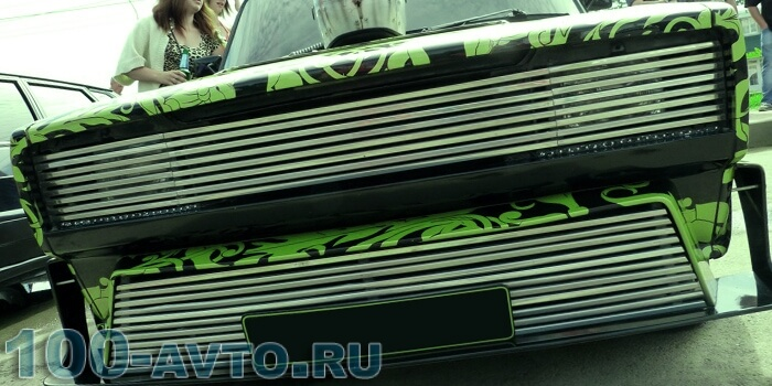 Тюнинг решетки радиатора ваз 2105