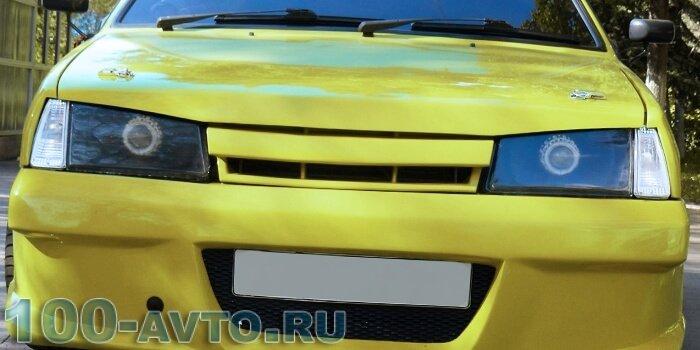 Тюнинг бампера на ВАЗ 21099